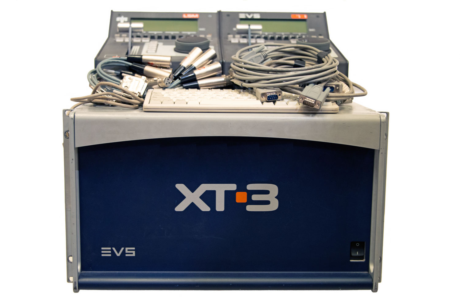 EVS XT3 - 8 Channel with Super Motion and two Controllers