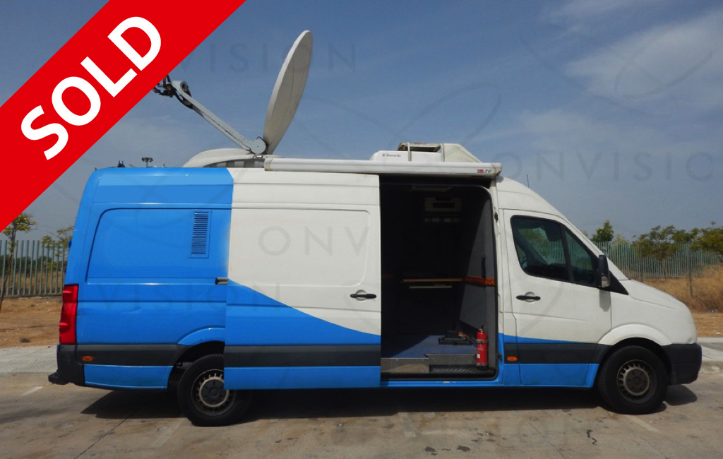 DSNG Left Hand Drive with 1.5m Advent Antenna SOLD