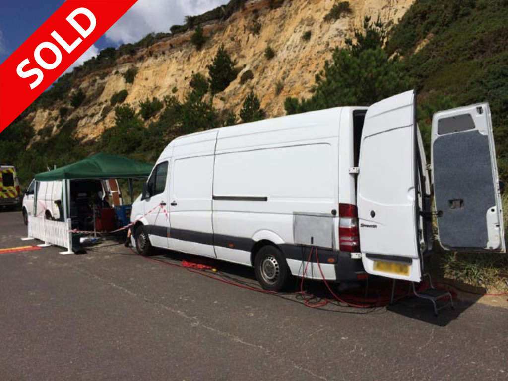 Mercedes Sprinter Right Hand Drive Rack Ready SOLD