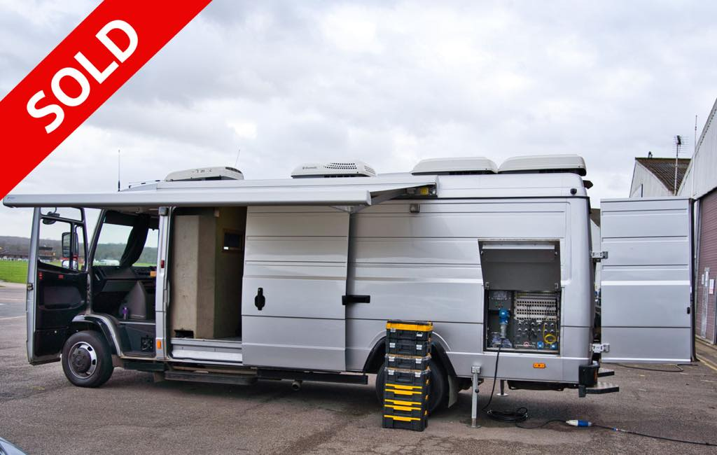 Mercedes Vario 8 Camera HD unit OB unit SOLD