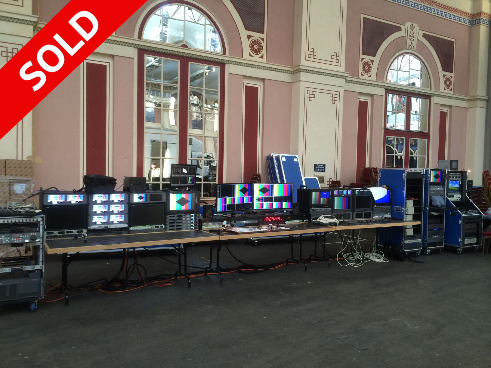 Broadcast Transportable Live TV Gallery SOLD