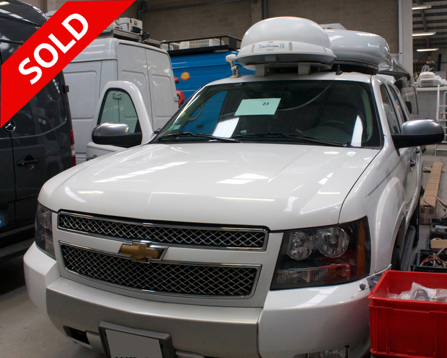 Chevrolet Tahoe Fully Redundant KU Band HD DSNG Left Hand Drive - 4 Wheel Drive SOLD