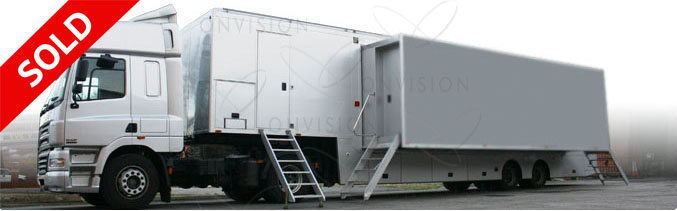 Double Expanding HD OB Trailer Unit - 24 Camera and 5.1 Sound SOLD